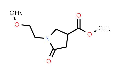 Methyl 1-(2-Methoxyethyl)-2-oxopyrrolidine-4-carboxylate