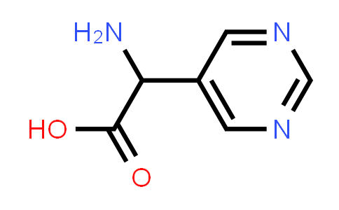 2-Amino-2-(pyrimidin-5-yl)acetic acid