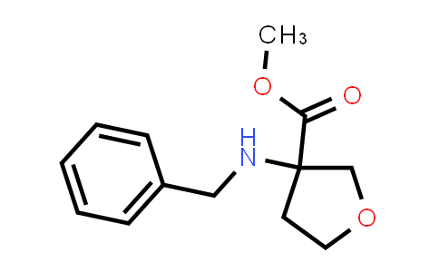 Methyl 3-(benzylamino)oxolane-3-carboxylate