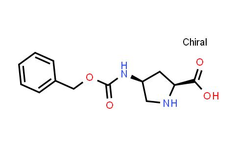 (2S,4S)-4-(((Benzyloxy)carbonyl)amino)pyrrolidine-2-carboxylic acid