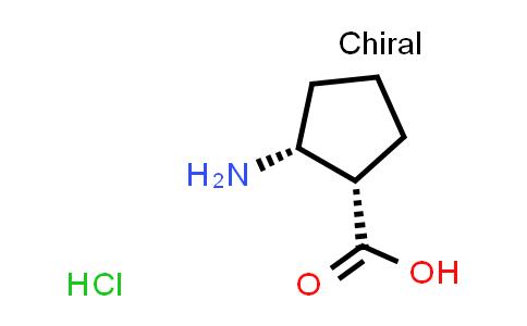 (1S,2R)-2-Aminocyclopentanecarboxylic acid hydrochloride