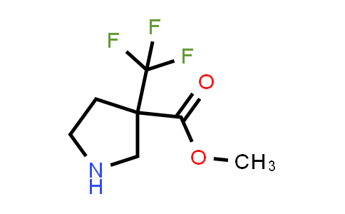 Methyl 3-(trifluoromethyl)pyrrolidine-3-carboxylate