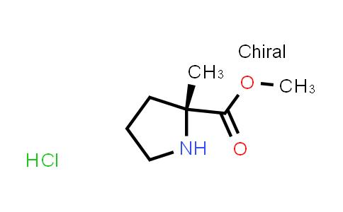 (R)-Methyl 2-methylpyrrolidine-2-carboxylate hydrochloride