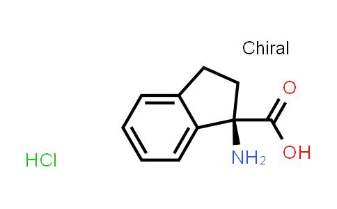 (R)-1-Amino-2,3-dihydro-1H-indene-1-carboxylic acid hydrochloride