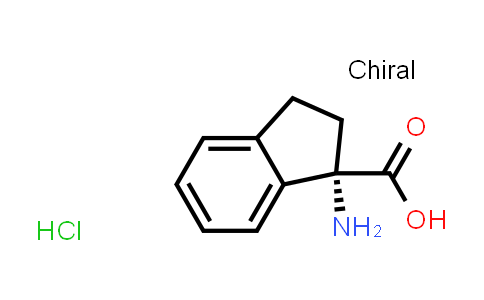 (S)-1-Amino-2,3-dihydro-1H-indene-1-carboxylic acid hydrochloride
