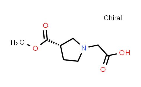 (S)-2-(3-(Methoxycarbonyl)pyrrolidin-1-yl)acetic acid
