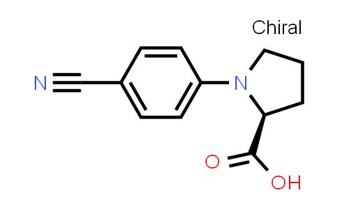 (S)-1-(4-Cyanophenyl)pyrrolidine-2-carboxylic acid