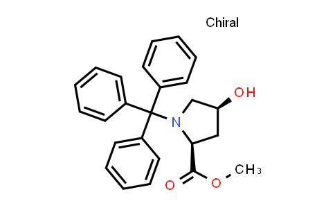 (2S,4S)-Methyl 4-hydroxy-1-tritylpyrrolidine-2-carboxylate