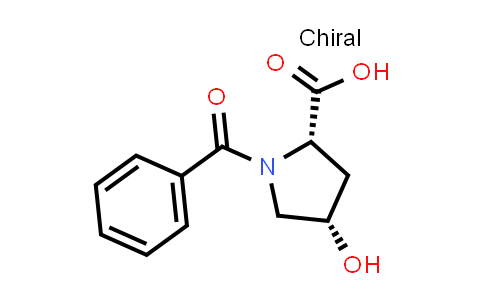 cis-1-Benzoyl-4-hydroxy-L-proline