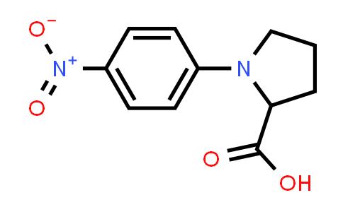 1-(4-Nitrophenyl)pyrrolidine-2-carboxylic acid