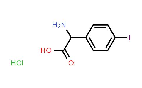 2-Amino-2-(4-iodophenyl)acetic acid hydrochloride