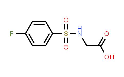 2-(4-Fluorophenylsulfonamido)acetic acid