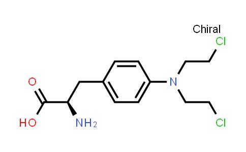(R)-2-Amino-3-(4-(bis(2-chloroethyl)amino)phenyl)propanoic acid