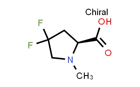 (S)-4,4-Difluoro-1-methylpyrrolidine-2-carboxylic acid