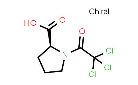 (S)-1-(2,2,2-Trichloroacetyl)pyrrolidine-2-carboxylic acid