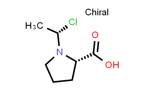 (S)-1-((S)-1-Chloroethyl)pyrrolidine-2-carboxylic acid