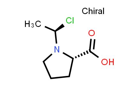 (S)-1-((R)-1-Chloroethyl)pyrrolidine-2-carboxylic acid