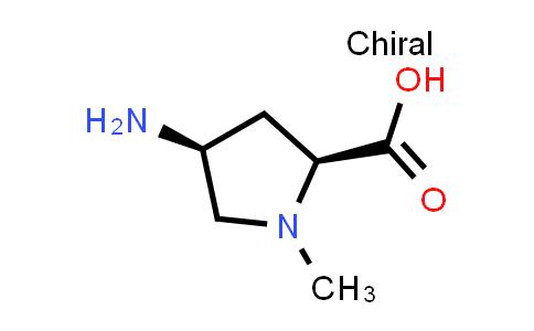 (2S,4S)-4-Amino-1-methylpyrrolidine-2-carboxylic acid