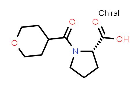 (S)-1-(Tetrahydro-2H-pyran-4-carbonyl)pyrrolidine-2-carboxylic acid