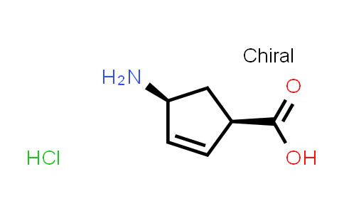 (1R,4S)-4-Aminocyclopent-2-enecarboxylic acid hydrochloride