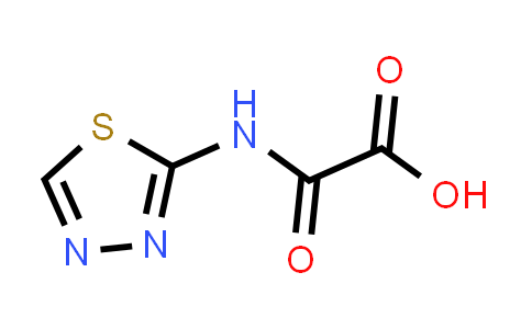 2-((1,3,4-Thiadiazol-2-yl)amino)-2-oxoacetic acid