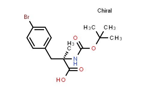 (R)-3-(4-Bromophenyl)-2-((tert-butoxycarbonyl)amino)-2-methylpropanoic acid