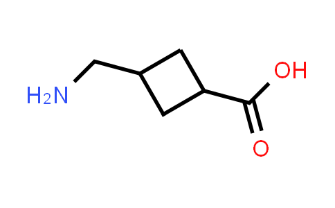 3-(Aminomethyl)cyclobutanecarboxylic acid