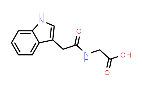 2-(2-(1H-Indol-3-yl)acetamido)acetic acid