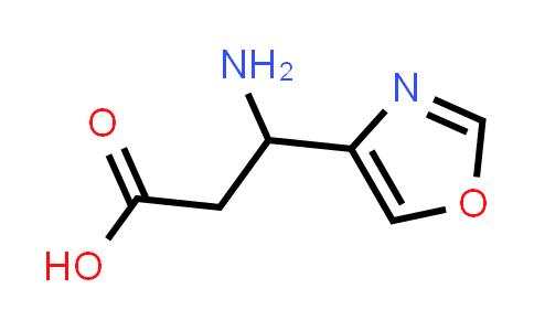 3-Amino-3-(oxazol-4-yl)propanoic acid