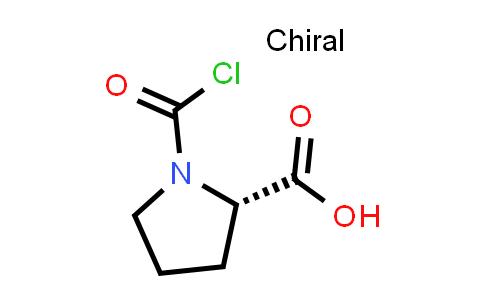 (S)-1-(Chlorocarbonyl)pyrrolidine-2-carboxylic acid