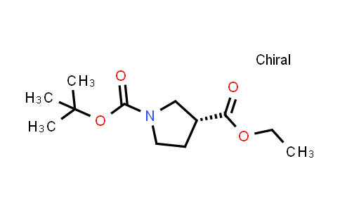 Ethyl (R)-1-Boc-3-pyrrolidinecarboxylate