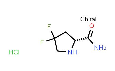 (R)-4,4-Difluoropyrrolidine-2-carboxamide hydrochloride