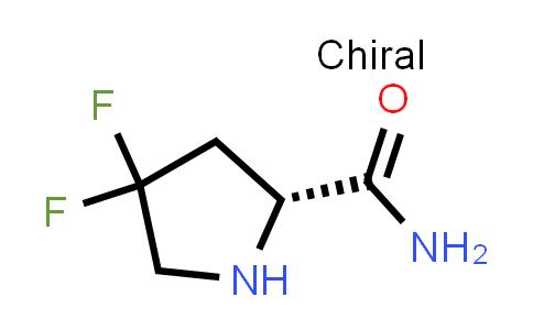 (R)-4,4-Difluoropyrrolidine-2-carboxamide