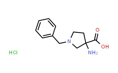 3-Amino-1-benzylpyrrolidine-3-carboxylic acid hydrochloride