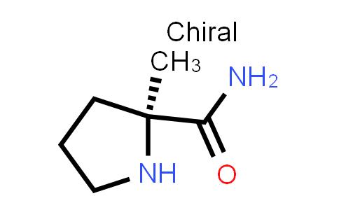 (S)-2-methylpyrrolidine-2-carboxamide