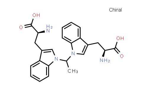 (2S,2'S)-3,3'-(1,1'-(Ethane-1,1-diyl)bis(1H-indole-3,1-diyl))bis(2-aminopropanoic acid)