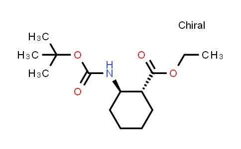 trans-Ethyl 2-((tert-butoxycarbonyl)amino)cyclohexanecarboxylate