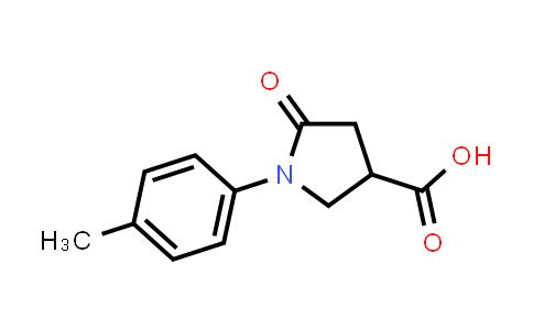 5-Oxo-1-(p-tolyl)pyrrolidine-3-carboxylic acid