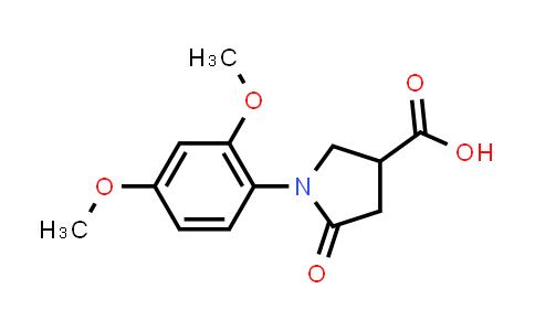 1-(2,4-Dimethoxyphenyl)-5-oxopyrrolidine-3-carboxylic acid