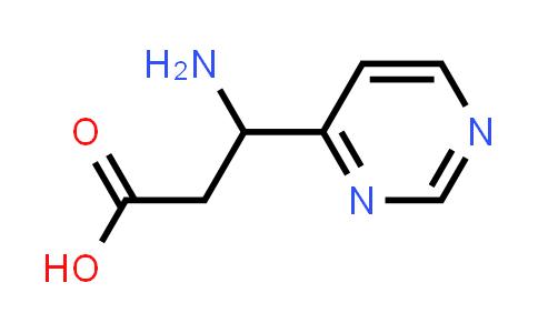 3-Amino-3-(pyrimidin-4-yl)propanoic acid
