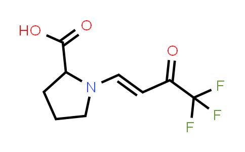 1-(4,4,4-Trifluoro-3-oxobut-1-en-1-yl)pyrrolidine-2-carboxylic acid