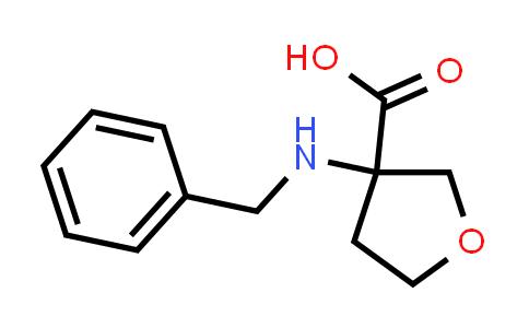 3-(Benzylamino)tetrahydrofuran-3-carboxylic acid