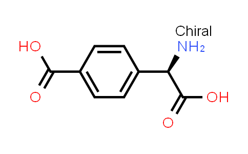 (R)-4-(Amino(carboxy)methyl)benzoic acid