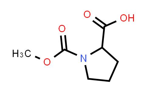 1-(Methoxycarbonyl)pyrrolidine-2-carboxylic acid