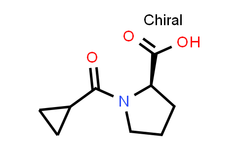 (R)-1-(Cyclopropanecarbonyl)pyrrolidine-2-carboxylic acid