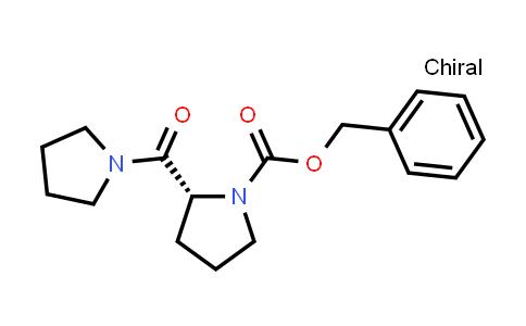 (R)-Benzyl 2-(pyrrolidine-1-carbonyl)pyrrolidine-1-carboxylate