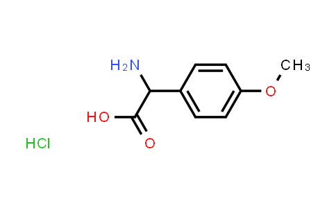 2-Amino-2-(4-methoxyphenyl)acetic acid hydrochloride
