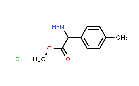 Methyl 2-amino-2-(p-tolyl)acetate hydrochloride
