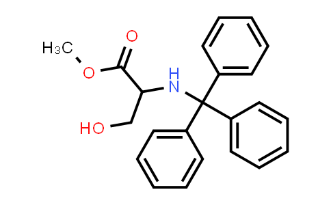 Methyl 3-hydroxy-2-(tritylamino)propanoate