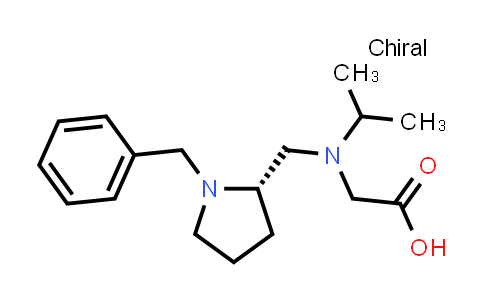 (S)-2-(((1-Benzylpyrrolidin-2-yl)methyl)(isopropyl)amino)acetic acid